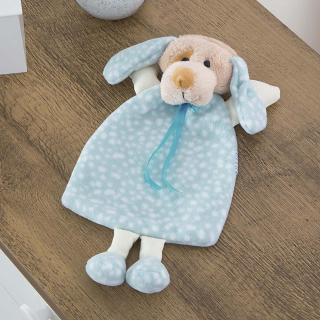Naninha Carinhosa Soft Dog Azul