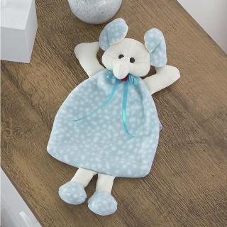 Naninha Carinhosa Soft Dumbo Azul