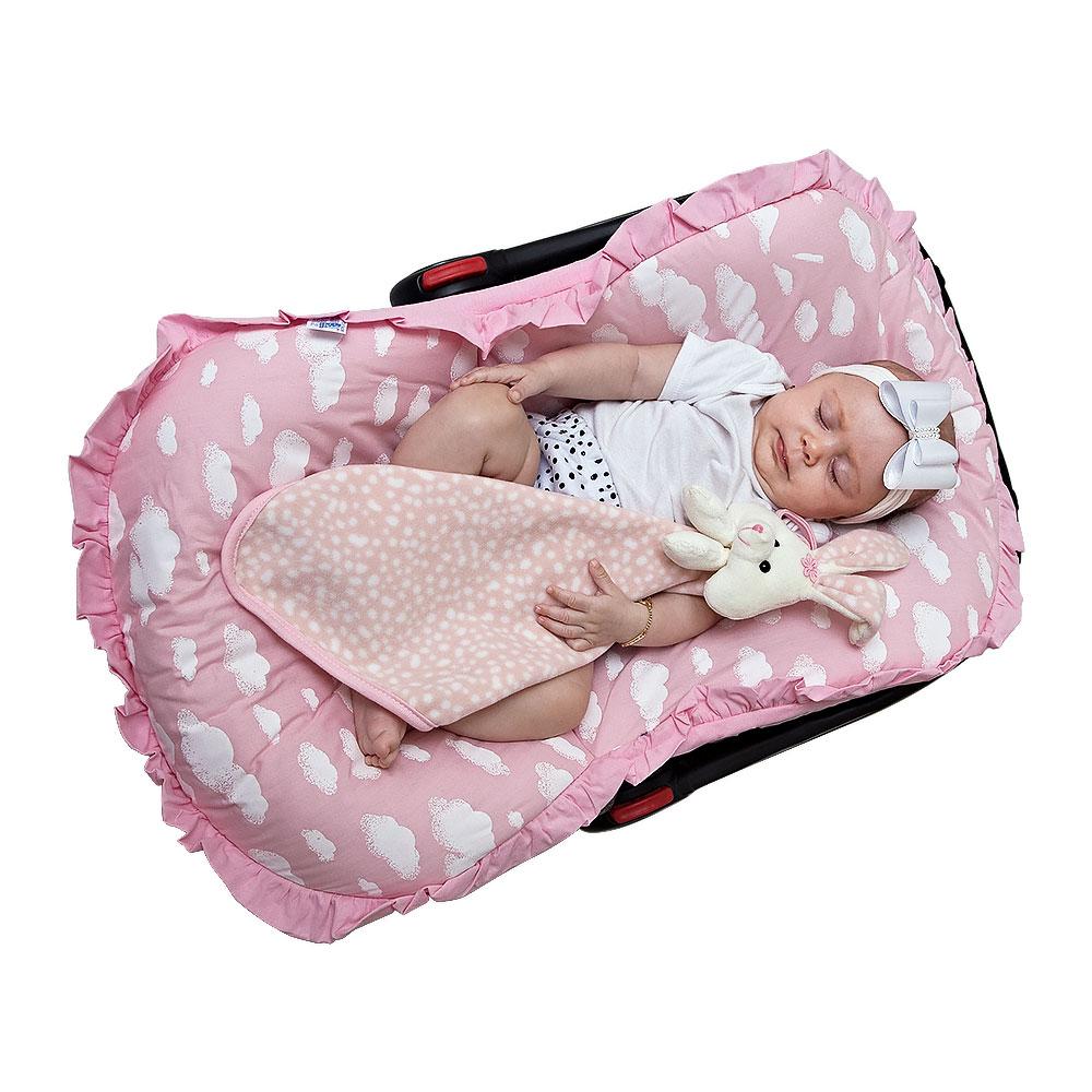 Capa Bebê Conforto - Nuvem Kids Feminina